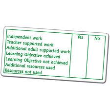 ST76 Marker's Comments APP Assessment Pre-inked School Marking Stamper