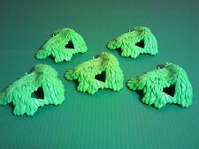sympa 5 feuillage pour arbre playmobil (  maison , ville , verdure ) 0233