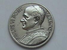 Paulus VI Ponti Maximus Medal, 1965