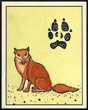 Nature In Danger #257 Panini 1987 WWF Sticker (C907)
