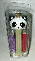 LIMITED EDITION PEZ    PANDA with CROWN Released 2020 [In Clam shell]