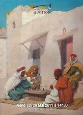 Catalogue de vente Tableau Peinture Orientaliste Orientalist painting 2011