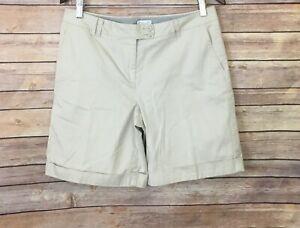 J. Jill Live In Chinos Shorts (Size: 8)