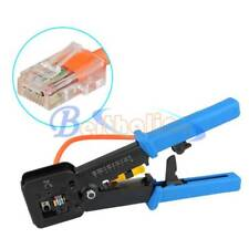 RJ45 crimper Crimping Cable Stripper pressing line clamp pliers tongs