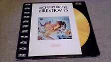 "DIRE STRAITS ALCHEMY LIVE 1st UK POLYGRAM MUSIC 12"" CD PAL VIDEO DISC 1983 MTV"