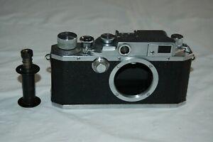 Canon IID /2d Vintage 1952 Japanese Rangefinder Camera. Service. 107123. UK Sale