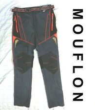 NEW NWT Mouflon Extreme Sports Womens Sz MEDIUM Hiking Pants Belt 4 Zip Pockets
