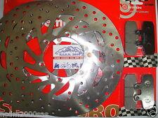 KIT 2 DISCHI BREMBO+PASTIGLIE ANTERIORI MALAGUTI 500 SPYDER MAX RS 09 > 7E5