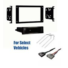 FORD Double Din Radio Stereo Dash Install Kit Faceplate FD-5025DD