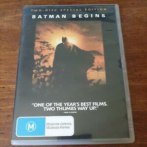 Batman Begins DVD R4 Like New! FREE POST