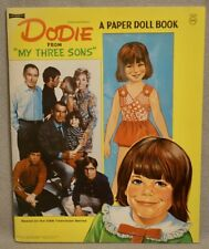1971 Dodie from Tv Show My Three Sons Paper Doll Book - Unused Mint Original