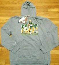 MITCHELL & NESS NFL GREEN BAY PACKERS BRETT FAVRE HOODED SWEATSHIRT 2XL