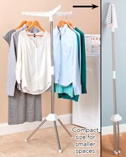 Stand for Hanging Clothes To Dry Folds Portable Space Saving Rack Laundry Helper