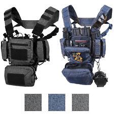 Helikon Tex Tactical Training Mini Tmr Chest Rig Vest Molle Operator Loaded Gear