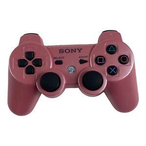Genuine OEM Sony PS3 Sixaxis DualShock 3 Wireless Controller - Pink