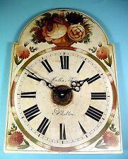 MEGA-QUARTZ reproduction Grandfather clock dial clock SHELTON logo