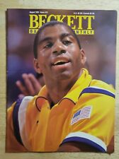 Beckett Basketball Card Monthly August 1991 Issue #13 MAGIC JOHNSON
