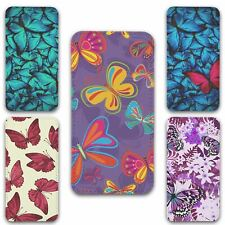 For iPhone 5 5s Flip Case Cover Butterfly Set 3