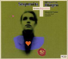 HILDEGARD VON BINGEN  voice of the blood + o jerusalem  SEQUENTIA / 2 CD