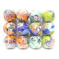 6 Stück super süße farbenfrohe Gummibälle 8 cm mit Tiermotiven Geburtstag Ball