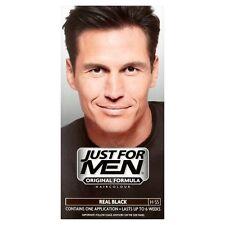 Sólo para hombres Champú Para Hombre Color de cabello Color Tinte Real Negro H55 lavado permanente en
