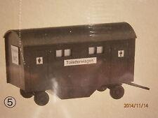 Faller Pola H0 Toilettenwagen WC-Wagen Bausatz NEU