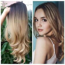 Perruque Luxe Sexy Adulte Femme Cheveux Longs Brune Blonde Wigs Déguisement