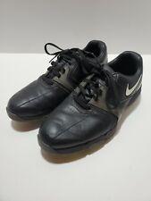 Nike Lunar Saddle Golf Shoes Black Mens 8 (551456-001) ~g2