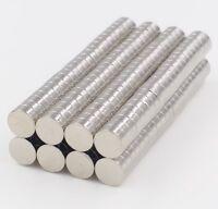 10x NEODYM MAGNET - 5x3mm - Minimagnet Magnetset Zaubermagnete NEODYM MAGNETE.