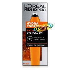 Loreal Men Expert Hydra Energetic Eye Roll On Anti Bags Anti Dark Circles 10ml