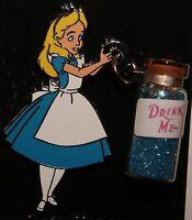 Disney 2016 DLR Alice Wonderland Drink Me Bottle Vial Pin