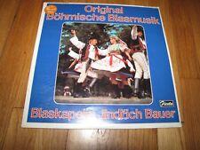 ORIGINAL BOHMISCHE BLASMUSIK - BLASKAPELLE JINDRICH BAUER - SEALED FIESTA LP