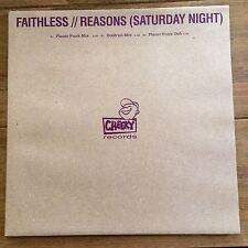 "Faithless - Reasons & Bombs 2x12"" Vinyl Collection"