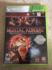 Mortal Kombat Komplete Edition  (Xbox 360, 2012)