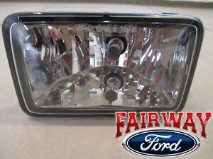 15 thru 20 F-150 OEM Ford Parts Halogen Fog Lamp Light w/ Bulb LEFT Driver NEW