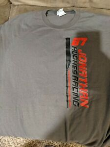 Jonathan Hughes Sprint Car Racing 67 T-Shirt Size 2XL