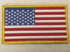 "U.S. Flag Patch 3 1/4"" X 2"" New Stars And Stripes"