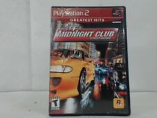 MIDNIGHT CLUB STREET RACING Playstation 2 PS2 Complete CIB Good