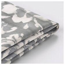 STOCKSUND Bench cover, grey/white/blue, Cotton Made, 36×25 cm-IKEA-Brand New