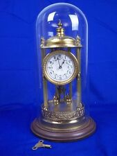 Brass German Collectable Clocks with Pendulum/Moving Parts