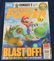 2010 Nintendo Power Magazine #254 Featuring Wii Super Mario Galaxy 2 High Grade