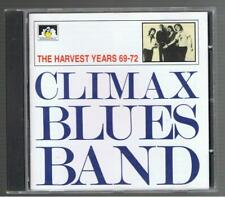 CLIMAX BLUES BAND - THE HARVEST YEARS 69-72 (SEE FOR MILES LABEL) CD