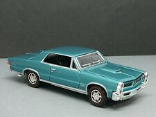 65 PONTIAC GTO ADULT COLLECTIBLE 1/64 SCALE LIMITED EDITION TRI-POWER MUSCLE CAR
