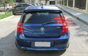 Painted BMW 04~11 E81 E87 1-series hatchback A type roof spoiler color: 475 ◎