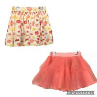 Janie And Jack 2T LOT Tutu Tulle Floral A Line Skirt Spring Easter $80