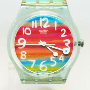 Swatch Watch Color The Sky GS124 Rainbow Swiss Made