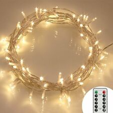 40 LED Outdoor Fairy Lights 8 Modes Battery Operated String Lights Waterproof UK
