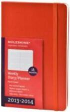Moleskine 2013-2014 Weekly Planner, Horizontal, 18 Month, Large, Red, Hard Cover