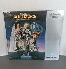 BEETLEJUICE THE NAME IN LAUGHTER FROM THE HEREAFTER LASERDISC MICHAEL KEATON NEW