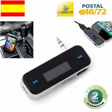 TRANSMISOR INALAMBRICO FM IPHONE IPAD SAMSUNG SONY HTC NOKIA TABLETS SMARTHPHONE